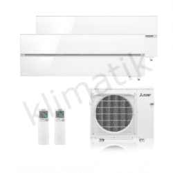Mitsubishi Electric Diamond R32 MSZ-LN25-35VGV + MXZ-2F53VG White